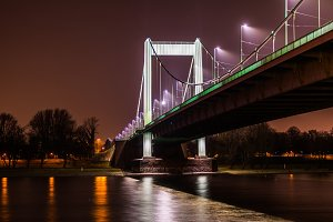 Bridge in the night