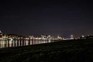 Skyline Cologne by night