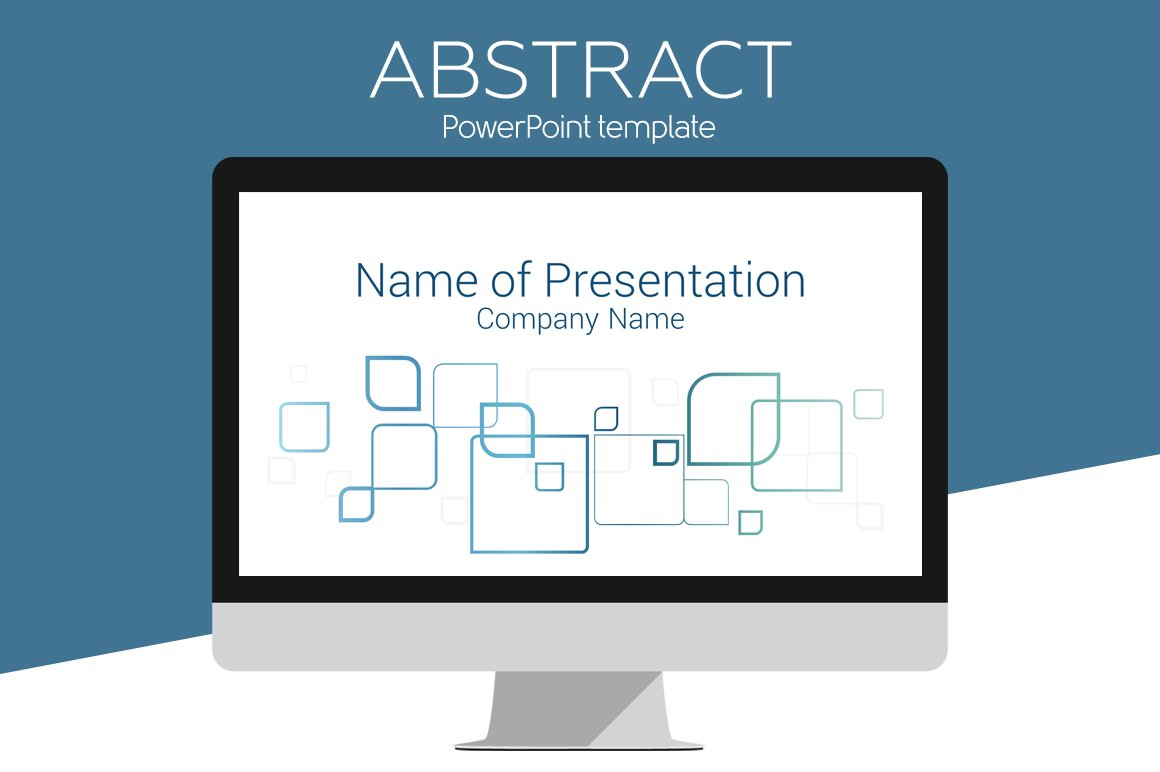 Abstract powerpoint template presentation templates creative market toneelgroepblik Gallery