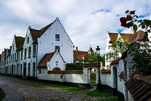 historic white Cloister