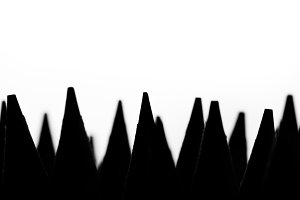 Silhouette pencil