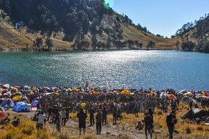 Independence Day at Mount Semeru