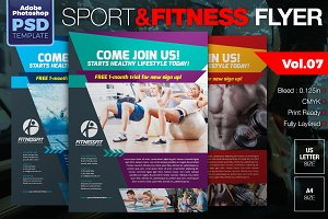 Sport & Fitness Flyer Vol.07