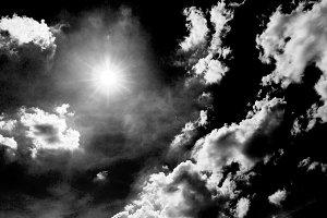 Sunny day sky