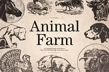 Vintage Animal Farm