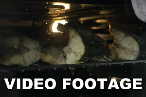 Cooking Grilled Fish in the Oven