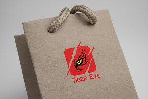 Tiger Eyes Logo Template
