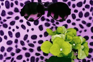 Fashion Sunglasses and Leopard print