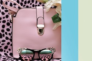 Handbags and sunglasses fashion