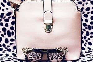 Stylish Handbags and Sunglasses