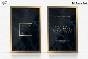 3in1 VIP MINIMAL Flyer Template