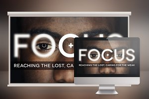 Focus Church Slide Photoshop