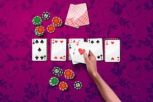 backgrounds with poker