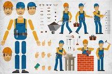 Builder creation set
