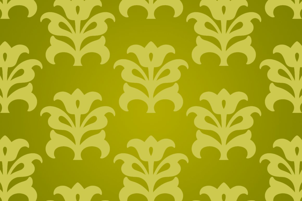 Green Yellow Chinese Flower Paper Graphic Patterns Creative Market