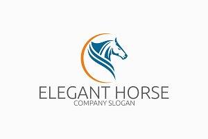 Elegant Horse Logo