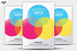 MINIMAL SHAPES Flyer Template