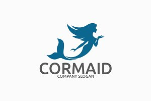 Cormaid - Mermaid Logo
