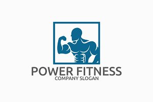 Power Fitness Logo