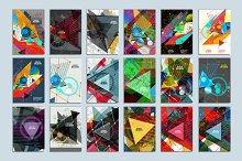 Abstract geometric image bundle