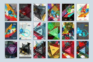 Abstract geometric image bundle
