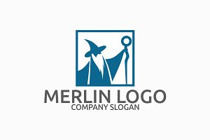 Merlin - Witch Logo