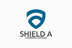 Shield A Logo