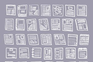 doodle documents layout infomation