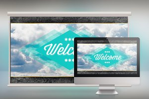 Sky Church Slide Photoshop Template