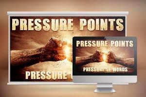 Pressure Presentation Photoshop