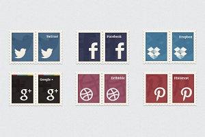 Social Media Stamps