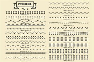 Vintage Borders Pattern Brushes 6