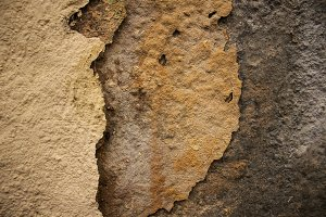 Flaky wall texture. Background.