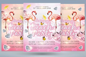 Flamingo Beach Party