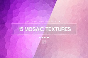 15 Mosaic Backgrounds