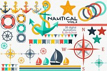 Nautical Vol.2 - Summer Cliparts