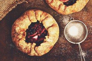 Homemade galette