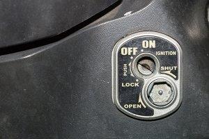 Key lock car