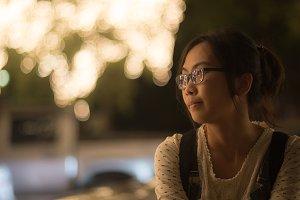 Portrait asian woman.
