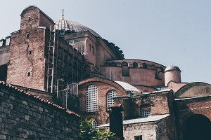 Traces of time (Hagia Sophia)