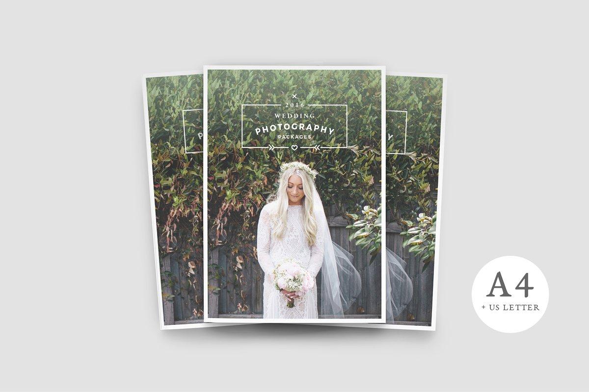 181d97a61 WANDERERS Photography Brochure ~ Brochure Templates ~ Creative Market