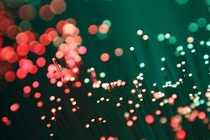 Light optical fibers