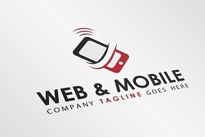 Mobile Networs/Tech Logo Template