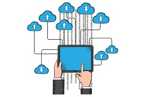 Cloud storage and computing service