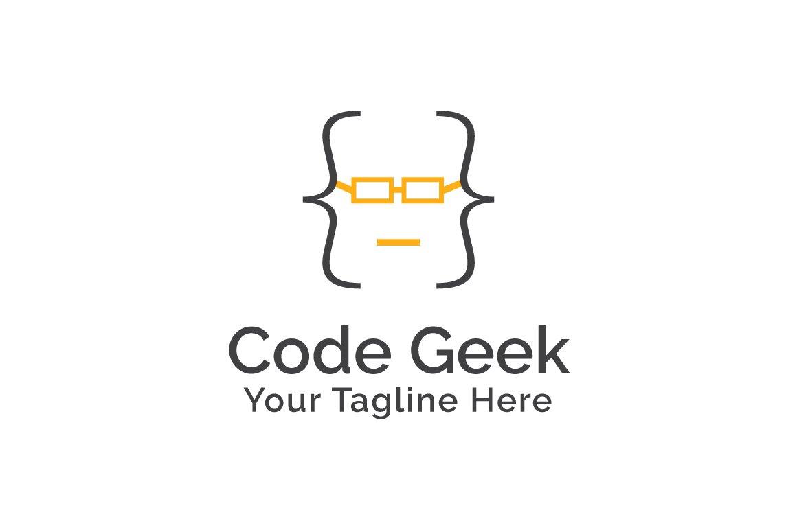 Code Geek Logo Template ~ Logo Templates ~ Creative Market