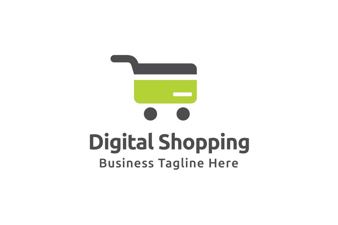 Digital Shopping Logo Template ~ Logo Templates ~ Creative