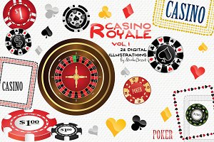 Casino Royale Vol.1 - illustrations
