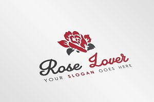 Flower Shop Logo Template