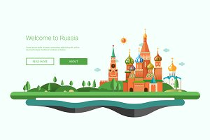 Travel to Russia Website Header