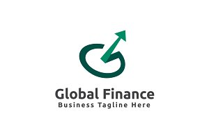 Global Finance Logo Template